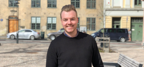 Magnus forteller om å jobbe i Vainu Norge